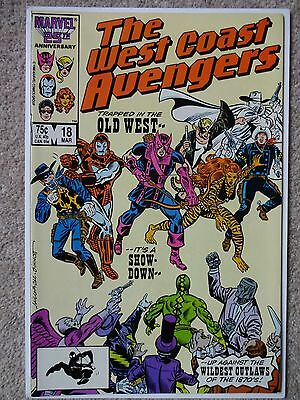 THE WEST COAST AVENGERS No. 18 March 1987