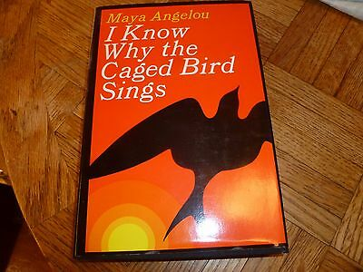 Maya Angelou I Know Why The Caged Bird Sing 1969 First Print Very Collectible