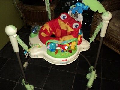 Fisher-Price Roaring Rainforest Jumperoo Baby Bouncer
