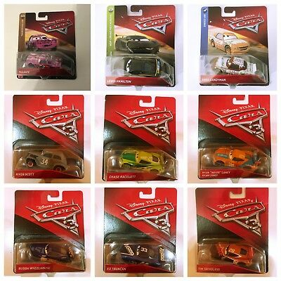 Cars 3 Disney Pixar DieCast Vehicle 1:55 Scale Collect Them All