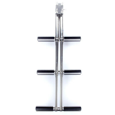 3 Steps Dual Vertical Telescoping Tube Diver Ladder with Mount NEW DESIGN CGA