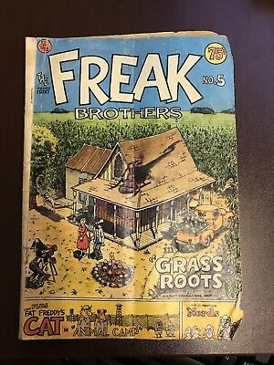 Fabulous Furry Freak Brothers No. 5 Grass Roots 1977