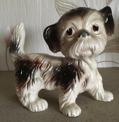 Dog Yorkshire Terrier Puppy Melbaware Large Size Standing Gloss  Rare