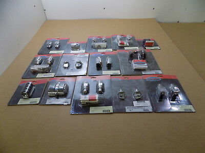 New Wholesale Lot Of Small Kuryakyn Motorcycle Mounts & Covers / 14 Pieces