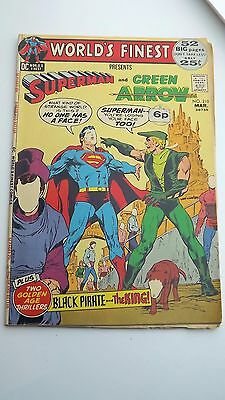 DC Worlds Finest presents Superman and Green Arrow Comic #210 Mar 1972