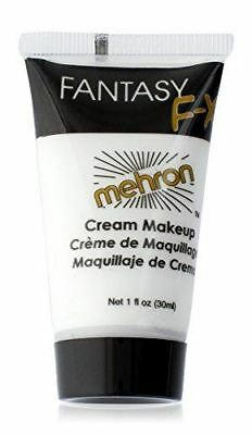 Mehron Makeup Fantasy F/X Water Based Face & Body Paint, WHITE – 1oz Carded