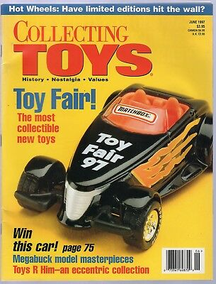 Collecting Toys Magazine / June, 1997 - Hot Wheels, 20,000 Leagues Board Game