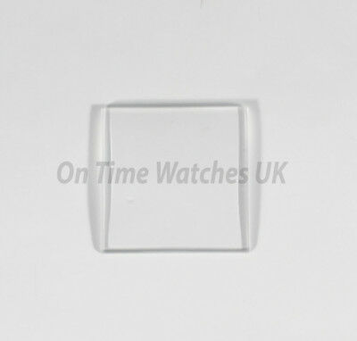 Quality 20mm X 20mm Mineral Glass Crystal For Cartier TANK Watch- Watch Crystal