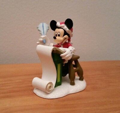Department 56 Disney Mickey's Christmas List Mickey's Merry Christmas Village