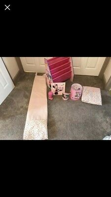 Minnie Mouse Book Sling, Curtains, Canvas, Light Shade And Lamps