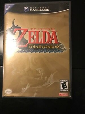 Legend Of Zelda: The Wind Waker (Nintendo GameCube) RARE Fast Shipping