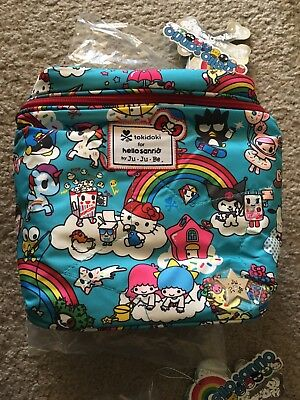 NWT Ju-Ju-Be Tokidoki Hello Kitty Rainbow Dreams Fuel Cell