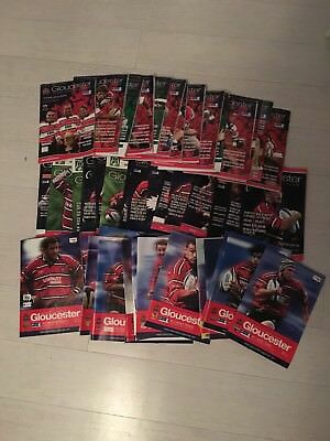 Gloucester Rugby Programmes