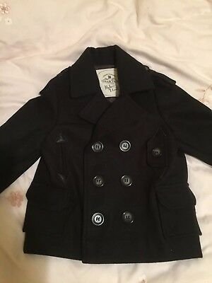 Beautiful Toddler Boys Coat By Myleene Klass Age 12-18 Months
