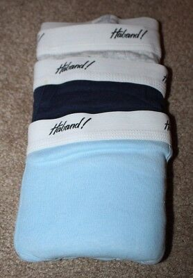 Vintage Mens Haband Cotton Briefs New Never used trouser fly 38/40 3 Pairs