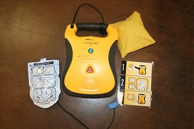 Defibtech Lifeline AED  - Working status w Adult & Ped Pads and Battery