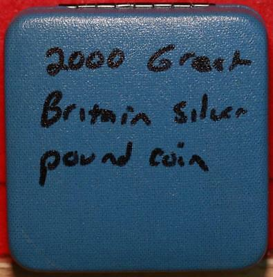Uncircualted 2000 Great Britain 1 Pound Silver Foreign Coin Free S/H