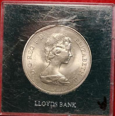 1972 Great Britain Silver Wedding Crown Foreign Coin Free S/H