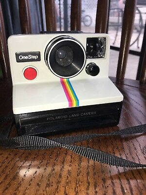 Polaroid One Step Rainbow Classic SX-70 Film Land Camera
