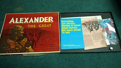 Vintage 1974 Avalon Hill Alexander The Great Board Game 708