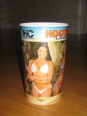 Hooters Calendar Girls 2018 Collectible Plastic Cup NEW