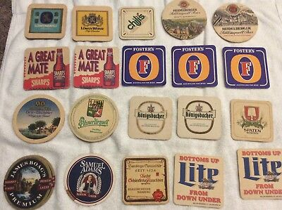 beer coasters collection