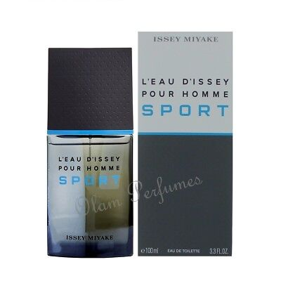fc901a77b6 ISSEY MIYAKE L'EAU D'issey Pour Homme Sport Edt Spray 3.3oz 100ml ...