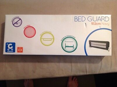 Childcare bed guard 102cm Navy Brand New