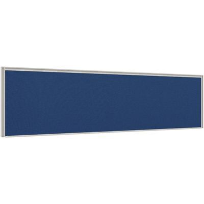 Stilford Professional Screen 1500 x 450mm White and Blue