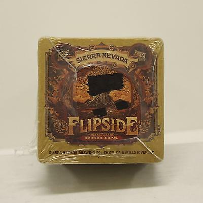Sierra Nevada Brewing Co. Purest Flipside Red IPA Beer Glass Coasters