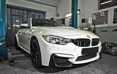 Bmw 3 F30/m3 F80 - Front Bumper Spoilers - 2 Pieces