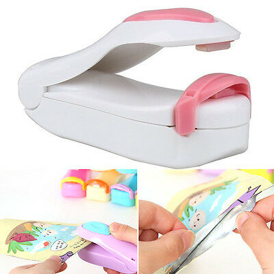 Portable Mini Heat Sealing Machine Impulse Seal Packing Plastic Bag Sealer Nice