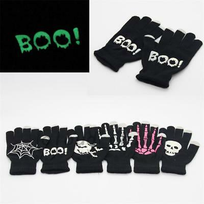 Touch Screen Gloves For Smart Phone Tablet Full Finger Knitted Mittens Keep Warm