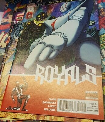 Marvels Royals #9 NM Condition, First Print, Bagged and Boarded