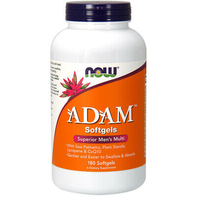 Vitamins Multi Adam Superior Mens Multi, 180 Softgels - NOW Foods