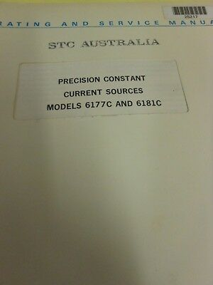 HP/Agilent 6177C and 6181C Precision Constant Ops and Service Manual Loc: 979