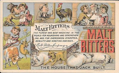 Malt Bitters The House That Jack Built Boston, Mass.