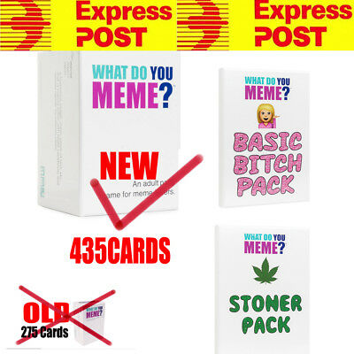 New 435 Cards What Do You Meme and expansion games Free Express shipping