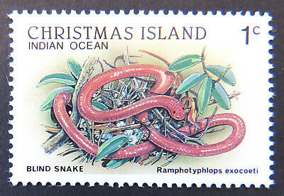 1987-1988 Christmas Island Stamps - Wildlife Definitives - Single 1c MNH
