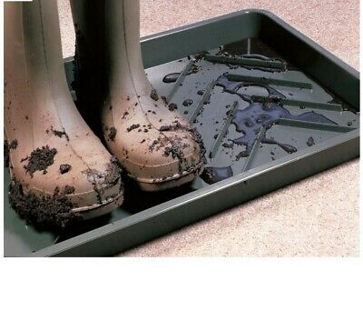 Garland Boot Tray Wellington Wellies Walking Work Boots Shoes Tidy Protect Floor