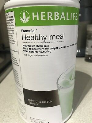 Herbalife F1 Mint choc chip - brand new and sealed