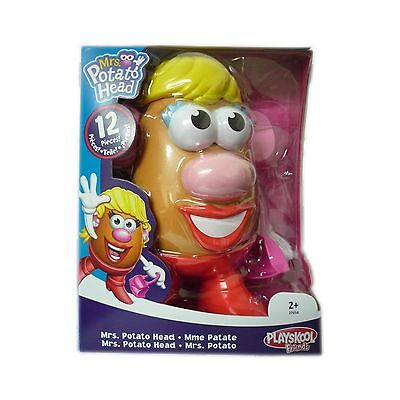 Mrs Potato Head Inc 11 Accessories Pieces Glasses Ears Nose Age 2+ Years Toy New