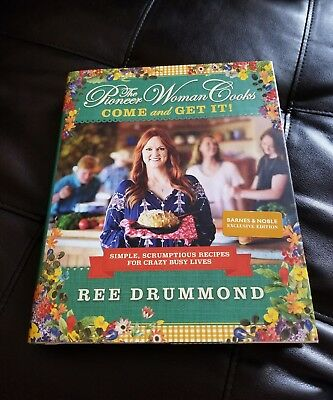 The Pioneer Woman Cooks Come and Get It Barnes & Noble Exculsive Hardcover New