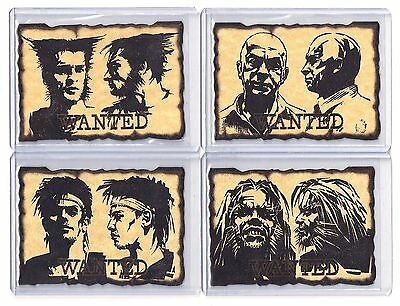 1997 Fleer X-Men Timelines WANTED POSTER Chase Set Charles Xavier