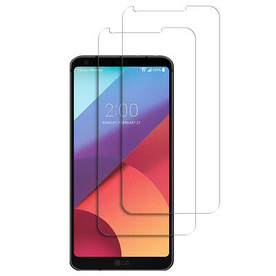 2X Tempered Glass Screen Protector Film For LG G7 G6 K8 K20 Stylo 3 K20 Plus New