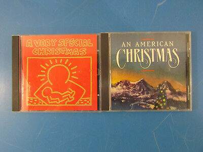 Lot of 2 - 1987 Vintage CDs - An American Christmas & A Very Special Christmas