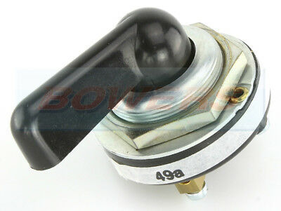 Durite 0-483-00 3 Position On/off/on Black Rotary Classic Car Indicator Switch