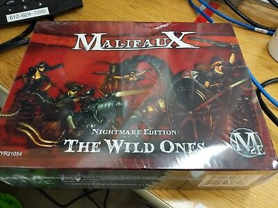 Limited Edition - Gencon 2016 - Malifaux - Nightmare Edition - The Wild Ones