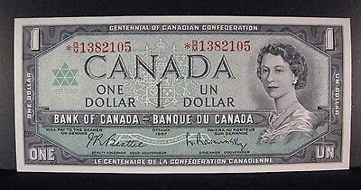 1967 Canada, Bank of One Dollar Replacement Note   ** Free U.S. Shipping **