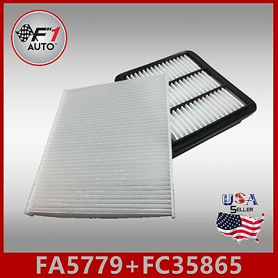 FC35865 2PC//SET 08790-2E200 CABIN AIR FILTER ~ 2012-2017 ACCENT /& VELOSTER